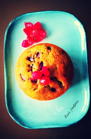 Amandelmuffin met cranberries